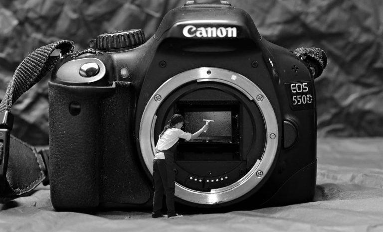 Nettoyer capteur appareil photo